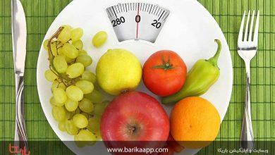 تصویر جدول کالری و کربوهیدرات انواع میوه ها