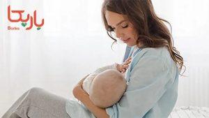 شیردادن مادر به بچه