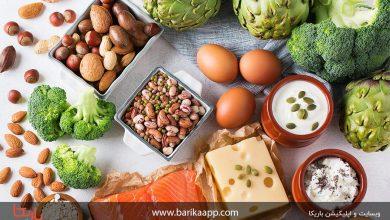 تصویر لیست غذاهای بدون کربوهیدرات و کم کربوهیدرات