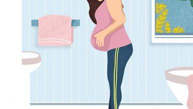 تصویر وزن گیری در دوران بارداری و نکات مربوط به آن