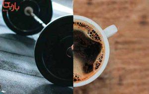 زمان مصرف قهوه