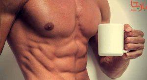 بدن سازی و قهوه
