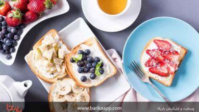 تصویر نقش وعده صبحانه در لاغری