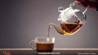تصویر مضرات مصرف زیاد چای سبز و سیاه